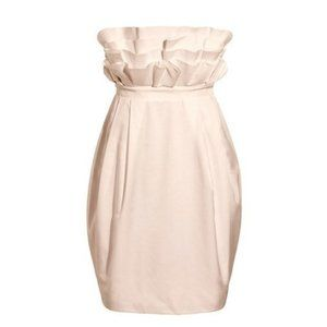 The H&M Garden Collection strapless party dress